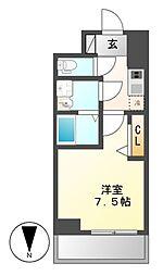 プレサンス桜通ザ・タイムズ[14階]の間取り