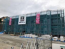 木更津市真舟5丁目新築アパート[205号室]の外観