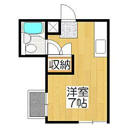 ハウス50[5-F号室]の間取り