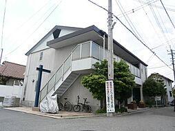 ローズミード総持寺[201号室]の外観