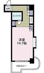 夏井ケ浜リゾートマンション[201号室]の間取り