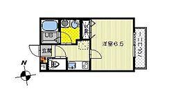 モンヴィ[2階]の間取り