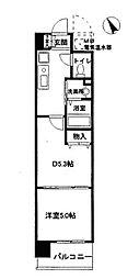 アミスタ菅原[2階]の間取り