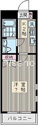 5234−ヴェルデ中野坂上[3階]の間取り