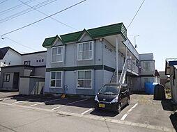 北海道旭川市東光十五条4丁目の賃貸アパートの外観