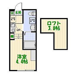 (仮称)葛飾区宝町1丁目コーポ[0102号室]の間取り