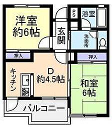 KDビルNo.2[1階]の間取り
