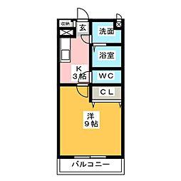be−full I[3階]の間取り