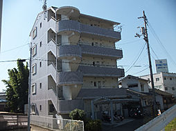 愛媛県松山市中村1丁目の賃貸マンションの外観