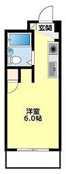 FESTA80[302号室]の間取り
