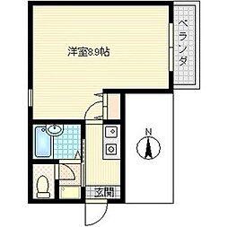 JUNWAマンション[1階]の間取り