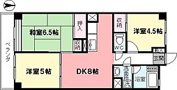 ユニオンマンション[502号室]の間取り