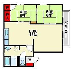 とまと館[2階]の間取り