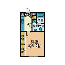 厚木台ファミールI[2階]の間取り
