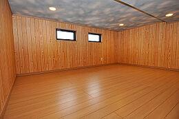 参考例として小屋裏収納。もう一つのお部屋としてもいいですし。収納専門にしてもいいですね。
