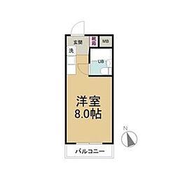 赤坂第一ビル[2階]の間取り