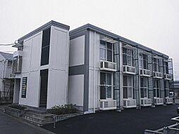 千葉県松戸市二十世紀が丘柿の木町の賃貸アパートの外観
