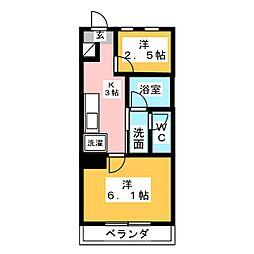 teshima&CO.聖石町[2階]の間取り