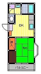 ウインズヒル[2階]の外観