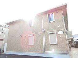 千葉県松戸市二十世紀が丘丸山町の賃貸アパートの外観