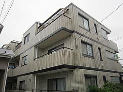 東京都府中市浅間町2丁目の賃貸マンションの外観
