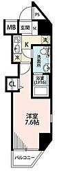 神奈川県川崎市川崎区藤崎3丁目の賃貸マンションの間取り