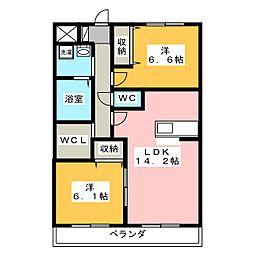 コラット[2階]の間取り