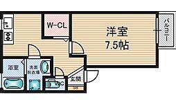 白樺ハイツ[1階]の間取り
