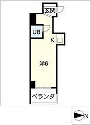 Progress錦[7階]の間取り