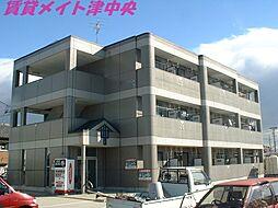三重県津市河芸町東千里の賃貸マンションの外観