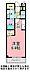 間取り,1K,面積25.25m2,賃料3.3万円,JR常磐線 水戸駅 バス15分 徒歩3分,,茨城県水戸市千波町2365番地