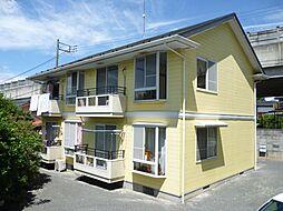東京都福生市大字福生の賃貸アパートの外観