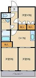 529-7 森ビル[4階]の間取り