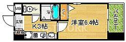 エイペックス京都新京極I[702号室号室]の間取り