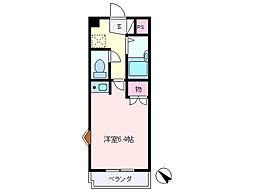 池田マンション[309号室]の間取り