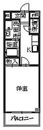 兵庫県相生市本郷町の賃貸マンションの間取り