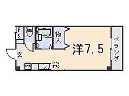 ボナール椥ノ辻[303号室号室]の間取り