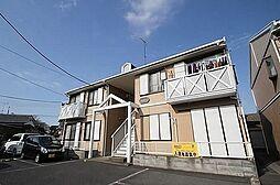 埼玉県春日部市栄町2丁目の賃貸アパートの外観