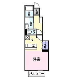 フィオーレ(花沢町)[1階]の間取り