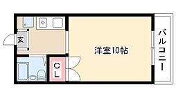 愛知県尾張旭市東本地ヶ原町3丁目の賃貸マンションの間取り