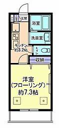 フォレスト小平[1階]の間取り