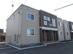 北海道札幌市北区篠路十条3丁目の賃貸アパートの外観