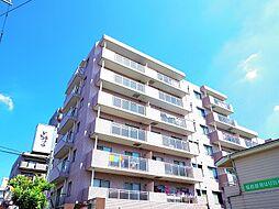 東京都東村山市栄町2丁目の賃貸マンションの外観