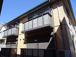 埼玉県鶴ヶ島市脚折町1丁目の賃貸アパートの外観