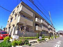 東京都足立区舎人2丁目の賃貸アパートの外観