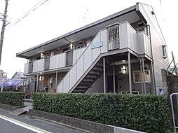 京都府京都市伏見区大和町の賃貸アパートの外観
