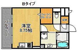 エーデルハウス[2階]の間取り