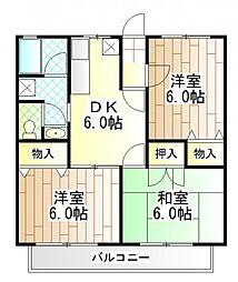 MILDHOUSE[1階]の間取り