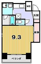 シェリオン[3階]の間取り