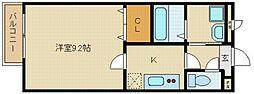 アムールメゾンドフルール[1階]の間取り